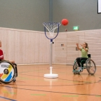 Mini-Rollstuhlbasketball