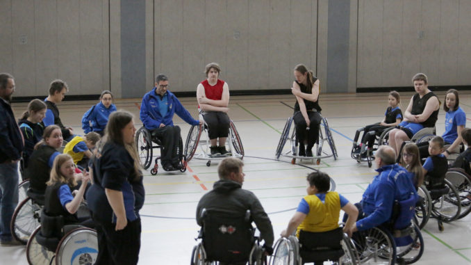 Caputs Juniors Trainingswochende Rollstuhlbasketball 03/2018