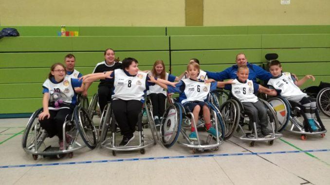 Mannschaftsfoto Caputs Juniors beim Juroba Cup Bonn