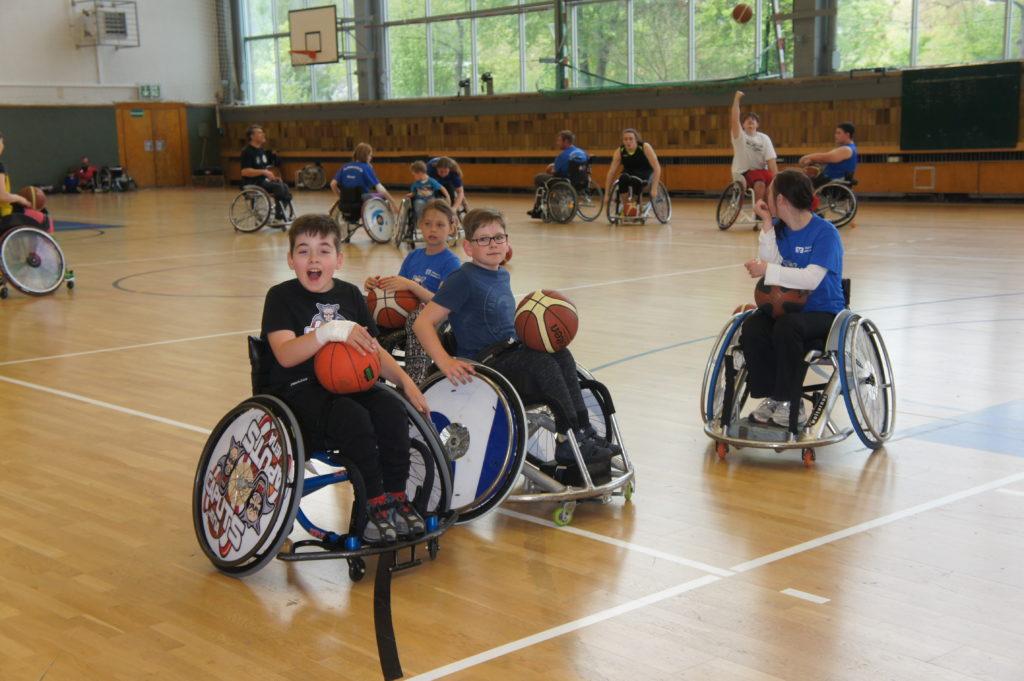 TryOut Jena 2019 Mini-Spieler in Aktion